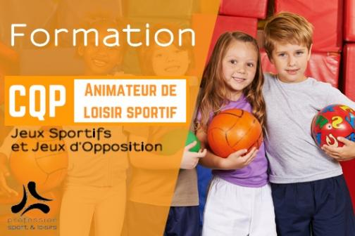 "Formation ""CQP ALS Option JSJO"" (Poitiers)"